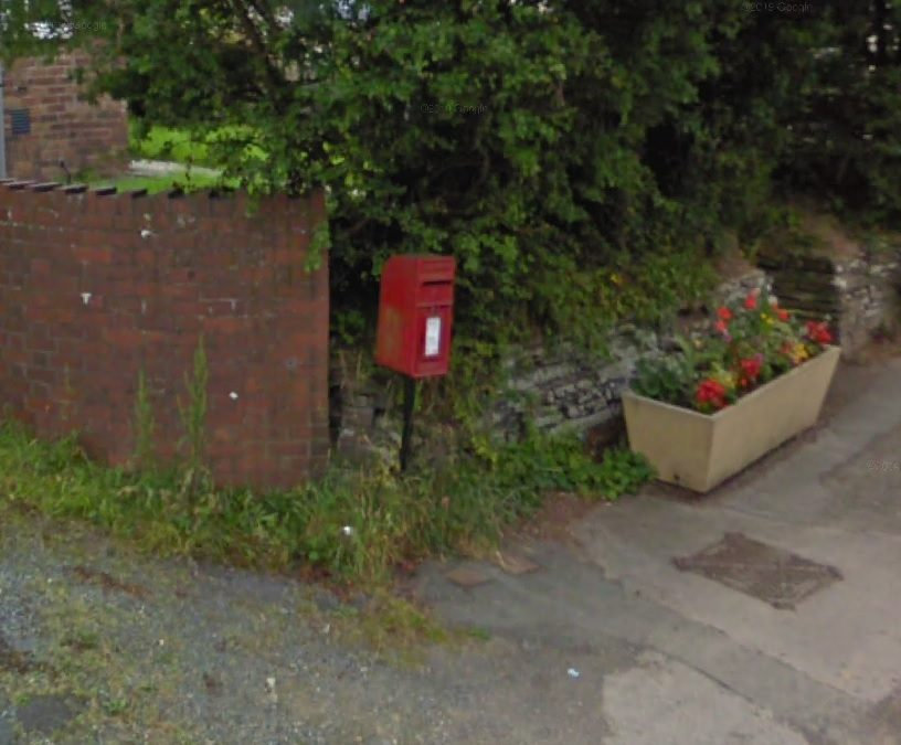 Two Royal Mail post boxes stolen in Pencader
