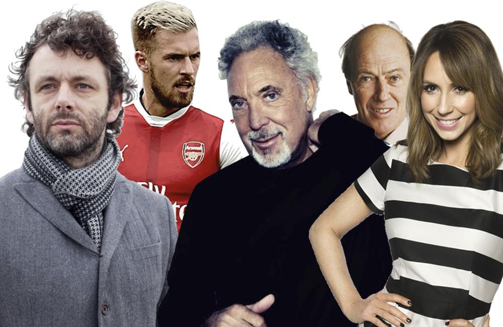Top ten famous Welsh people