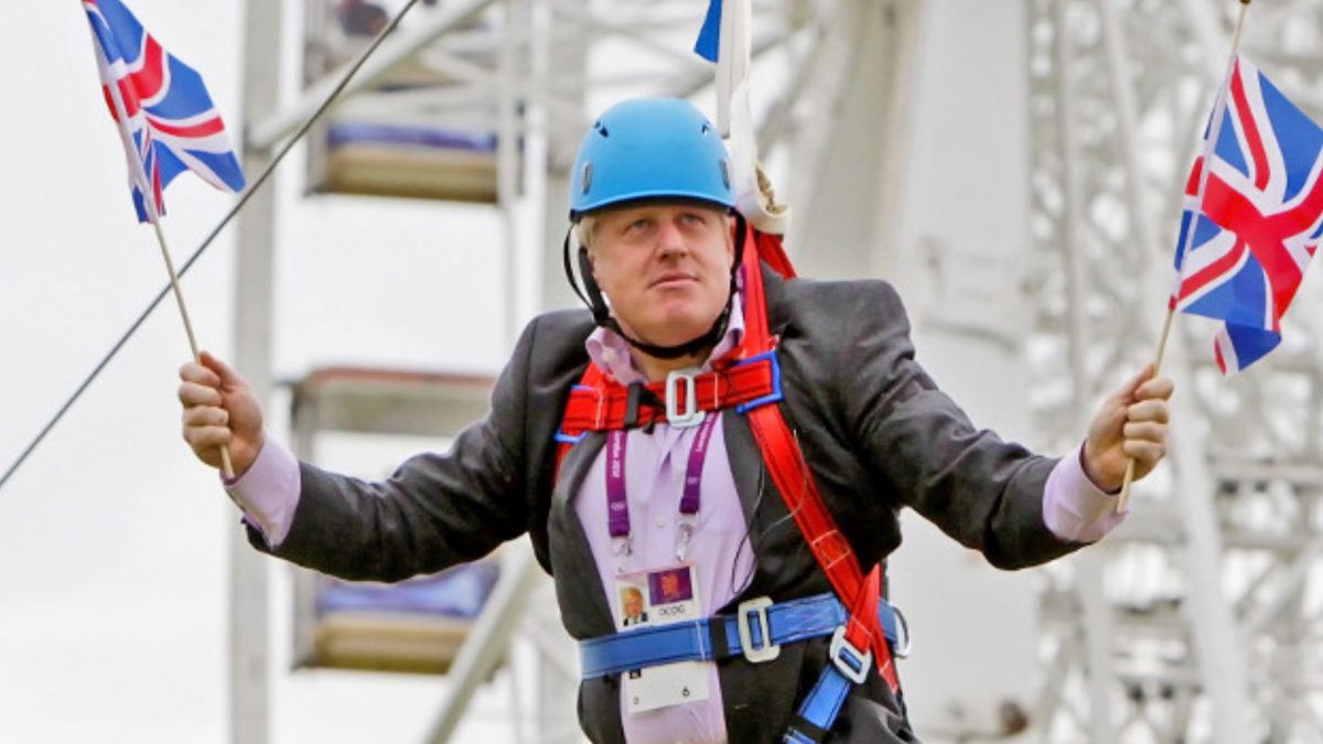 Footy-in-mouth: Boris Johnson scores own goal by forgetting Wales