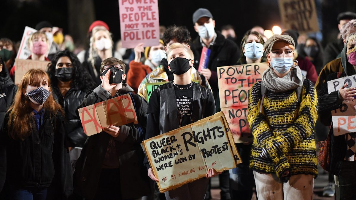 Cardiff protests continue over controversial police and crime bill