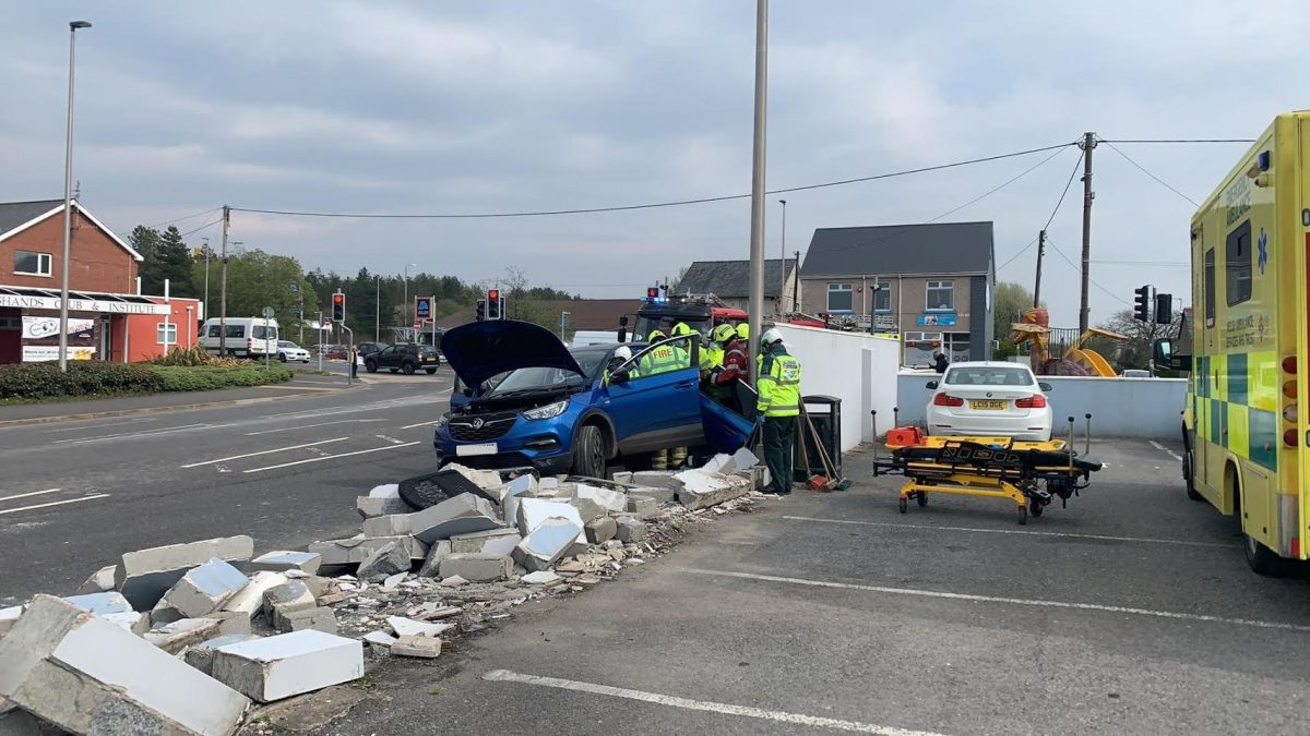 Record drop in road traffic accidents in Wales, new data reveals