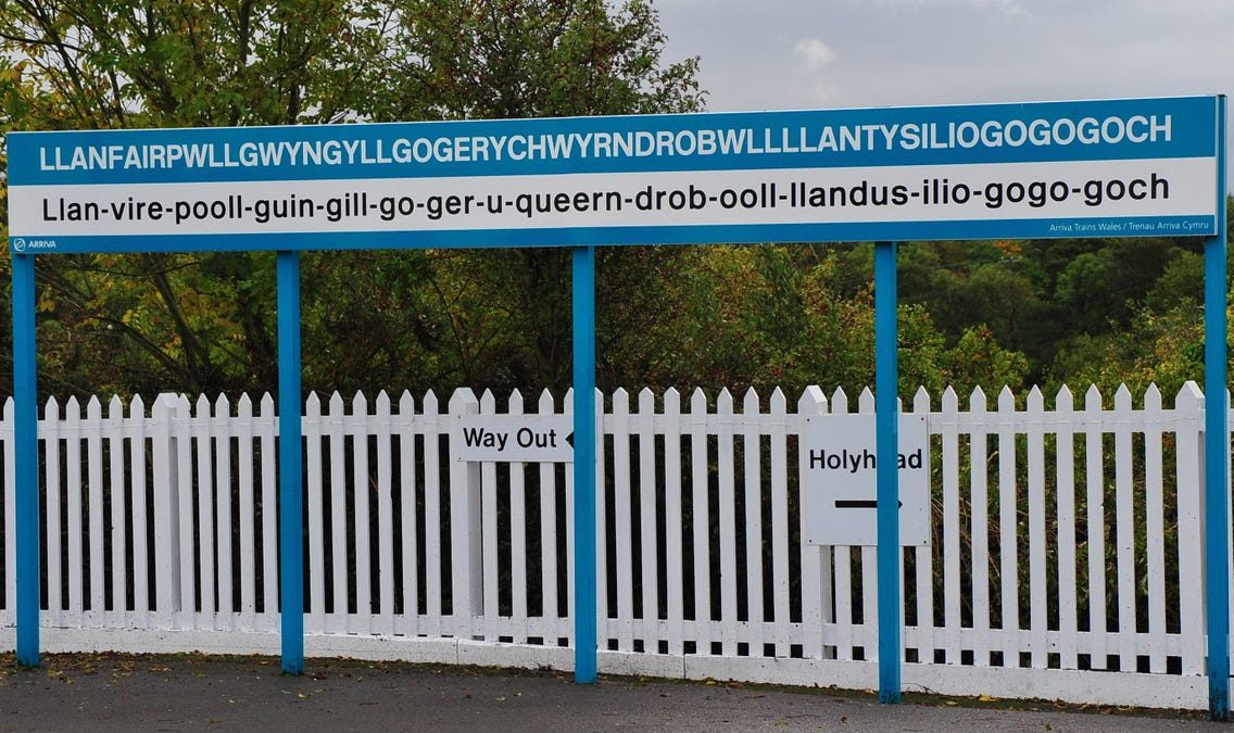 Wales' longest station name: How it got its name, and what it means