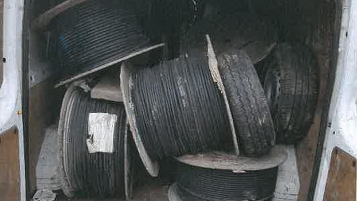 Newport father and son admit handling stolen railway cable