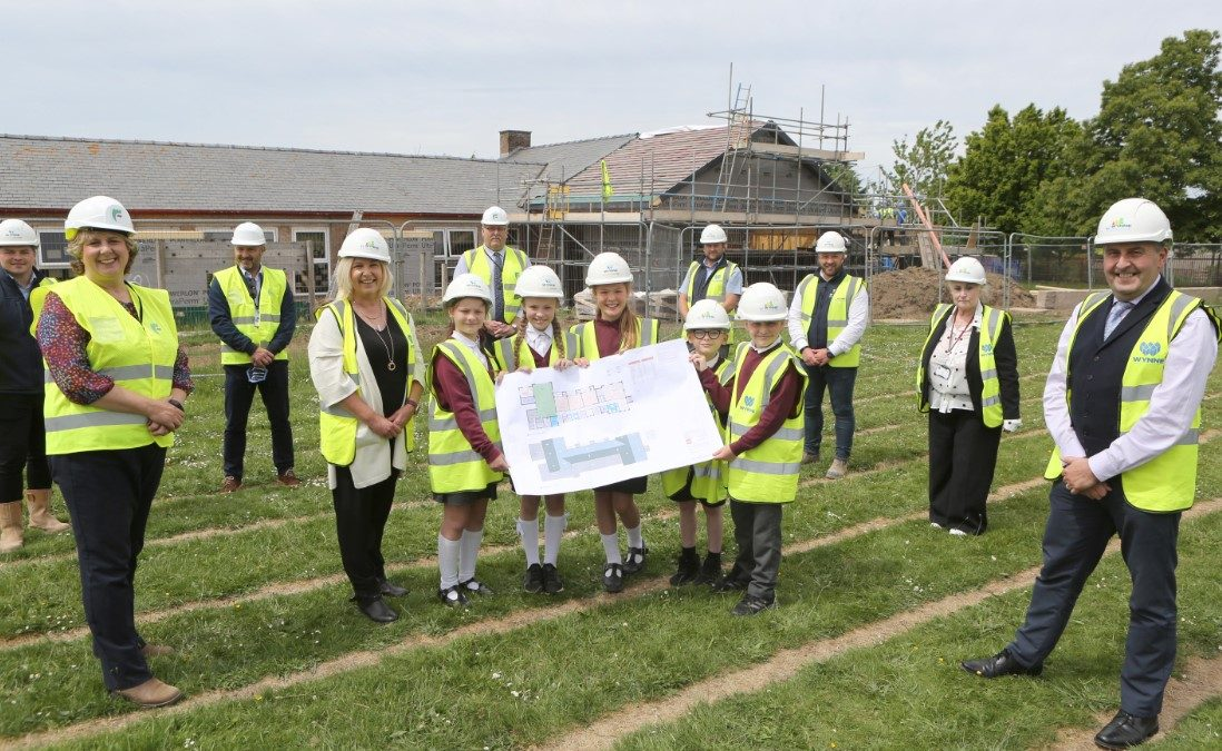 Work underway on Flintshire Early Years Centres project