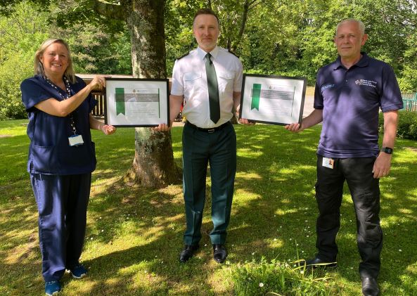 Pair commended for life-saving interventions at car crash aftermath