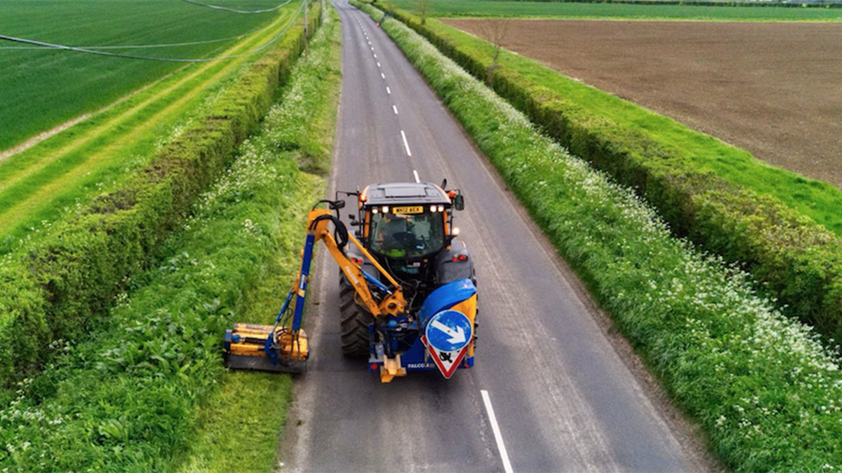 Pollinators protected during annual grass verge cuts