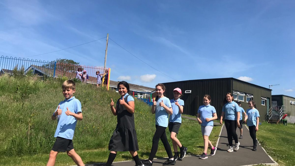 From Llanelli to Lesotho – Carmarthenshire pupils step up to the challenge
