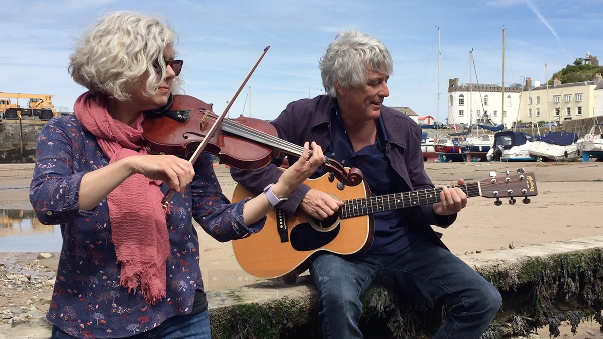 Tenby songster living with Parkinson's raises £4,314 for Parkinson's UK in 'song a day' challenge