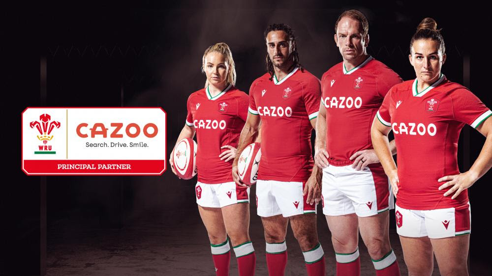Wales partnered by Cazoo for 2022 Six Nations