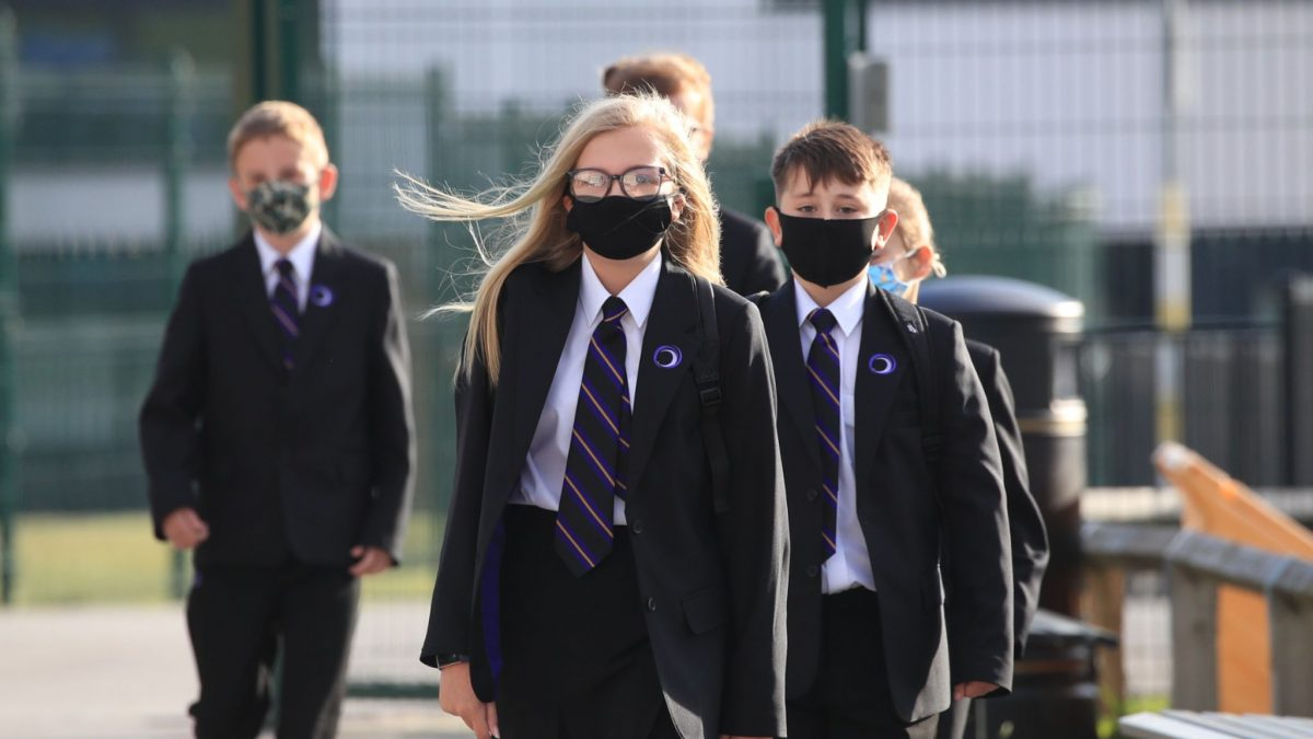 Welsh government not listening to school staff on face coverings