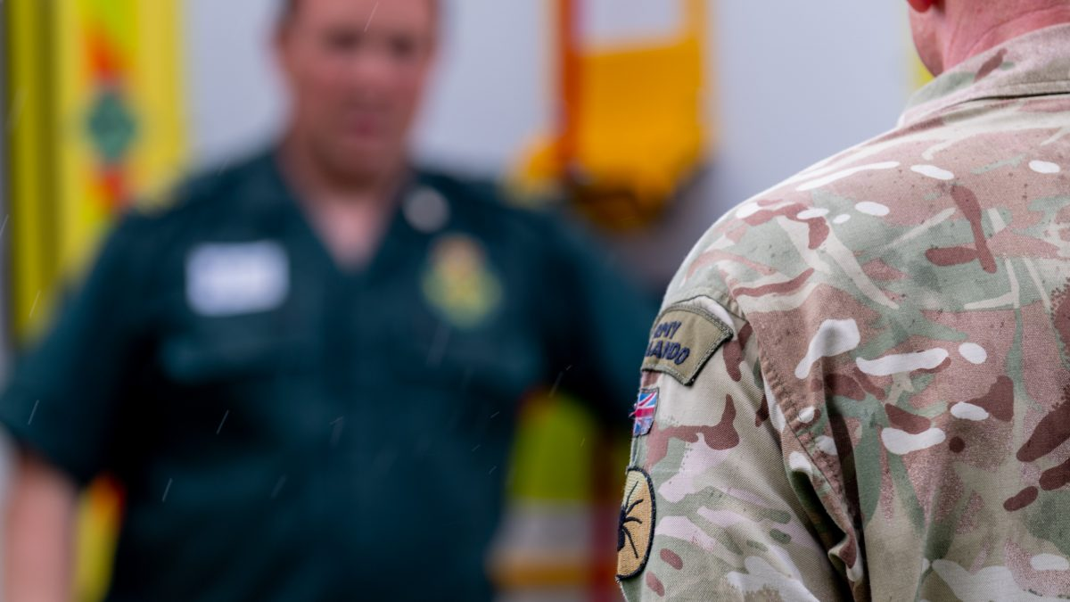 Welsh Ambulance Service honoured for outstanding support towards the Armed Forces