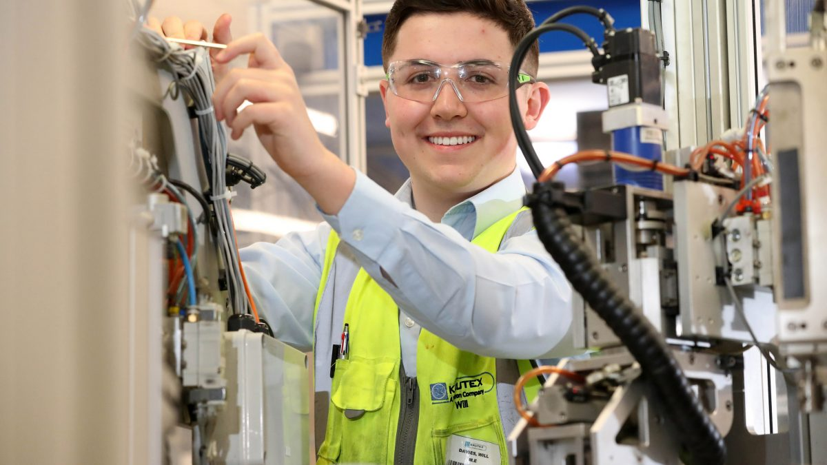 William named Apprentice of the Year after saving employer £20,000
