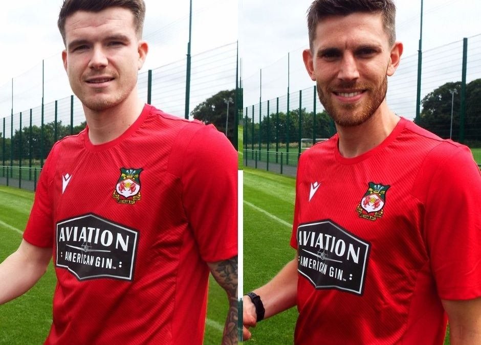 Wrexham complete double signing