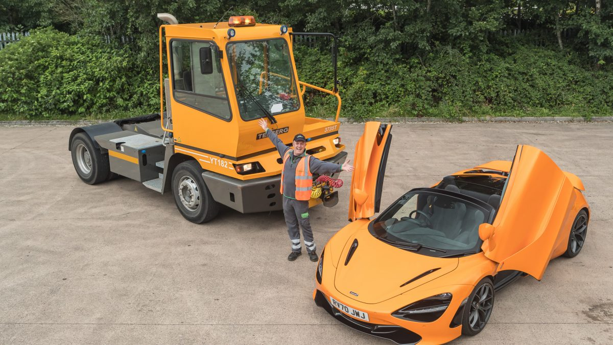 Lorry driving grandfather from Wales wins one of the world's fastest supercars