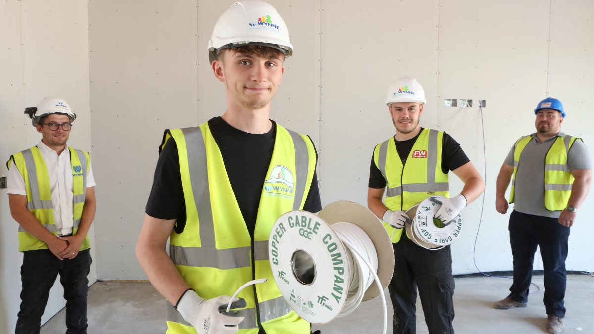 Work experience pays for prospective electrician apprentices