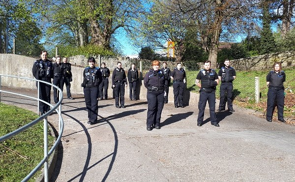 Policing with Pride – PCSO Connor Freel