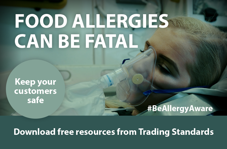 Be Allergy Aware – New campaign highlights food allergy law