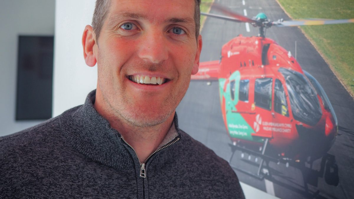 Wales Air Ambulance celebrates Air Ambulance week 2021 with support from James Hook