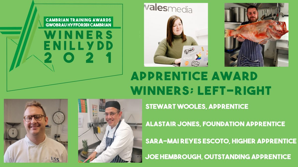 Food service company completes hat-trick at training company's awards