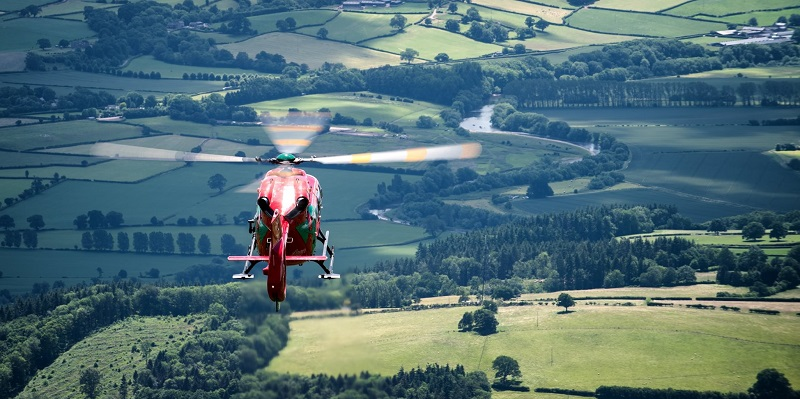 Funding lift for Wales Air Ambulance