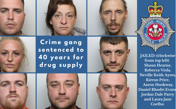 Operation Elegant: Eight sentenced to 40 years after police break up drugs gang