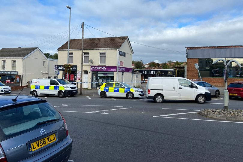 Swansea: Cordon in place after alleged assault on 15-year-old girl