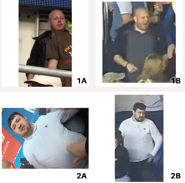 Images released by officers investigating football match violent disorder