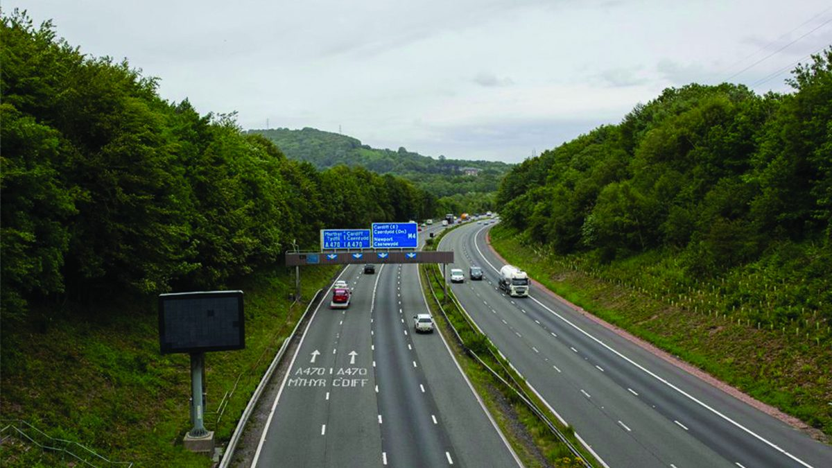 Driving on the M4: Where do most people get caught speeding?