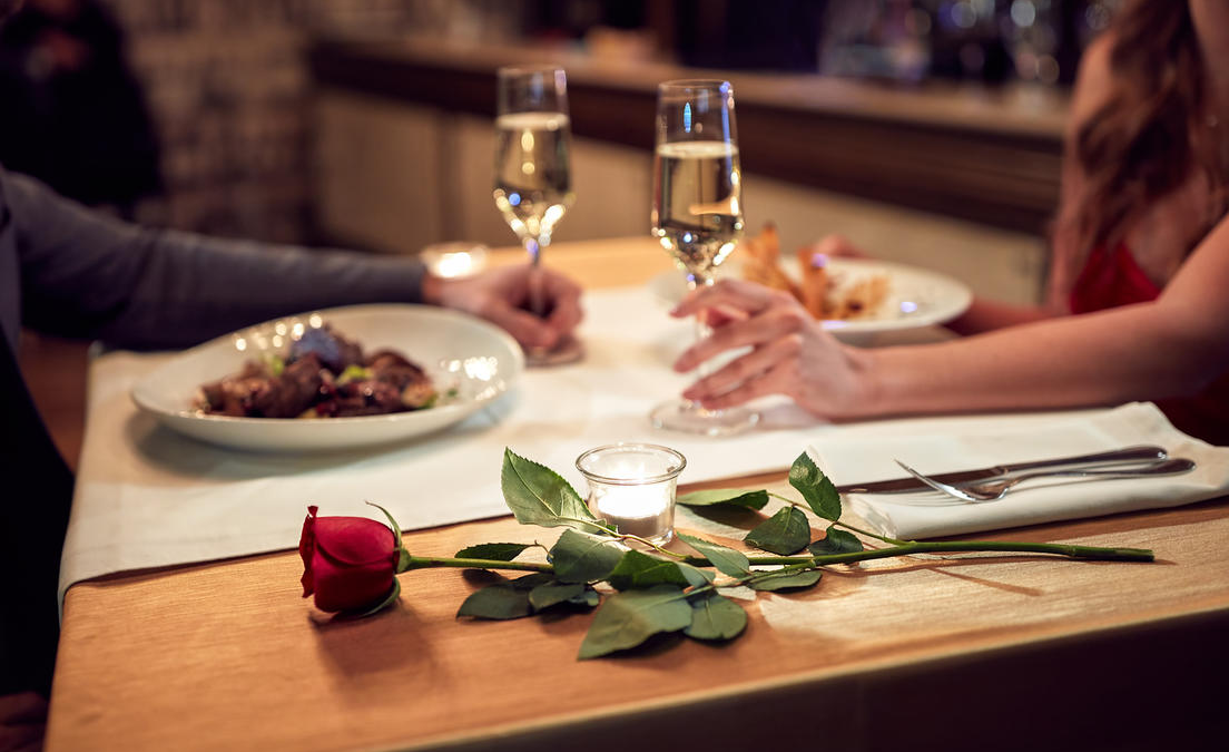 One in seven men in Wales think that men should pay the bill on a date